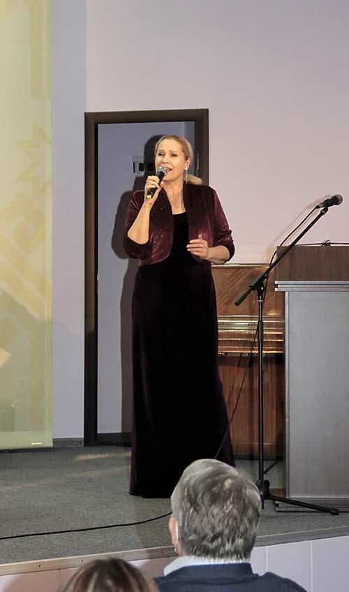 Артистка Татьяна Карпова